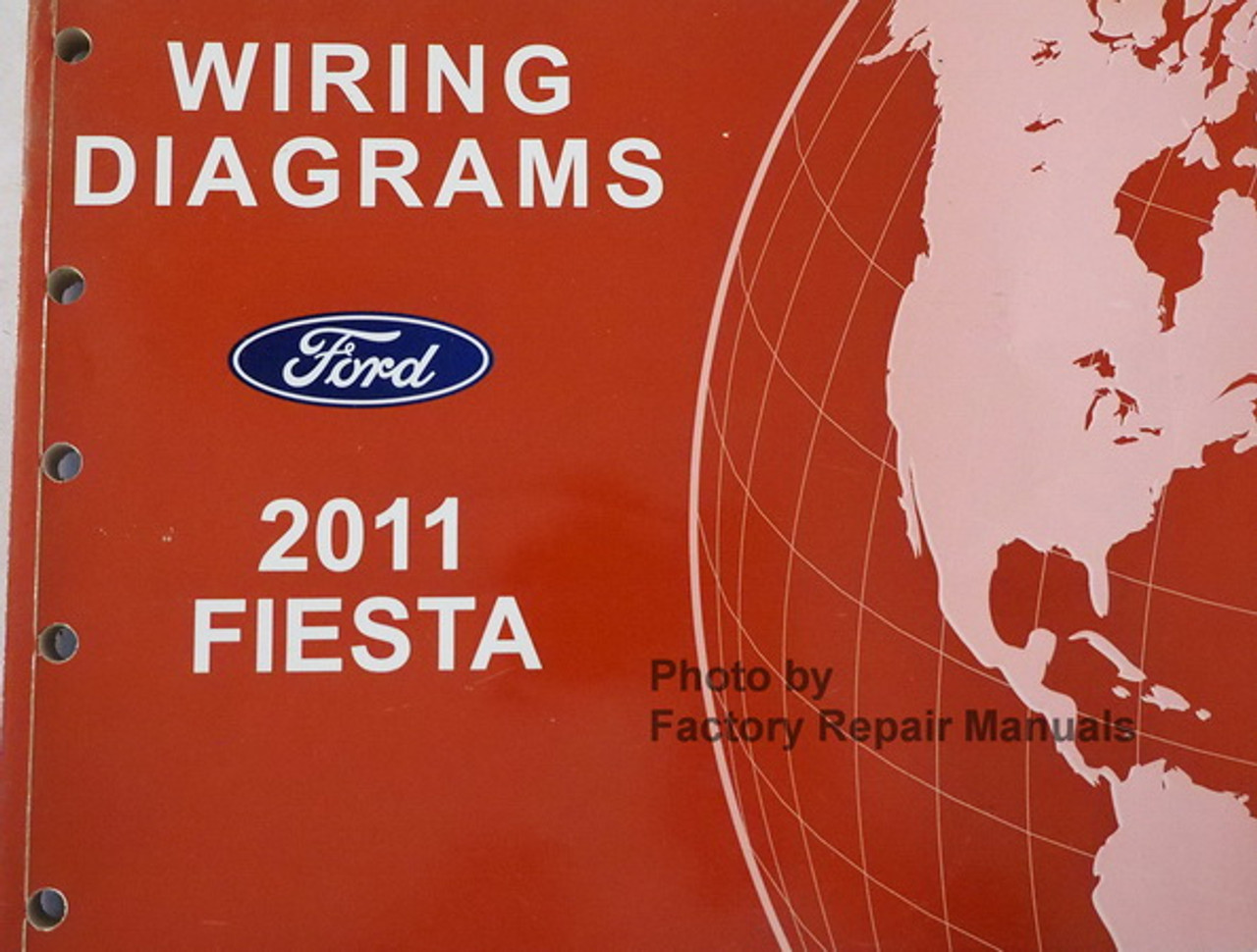 2011 ford fiesta electrical wiring diagrams original factory manual -  factory repair manuals  factory repair manuals