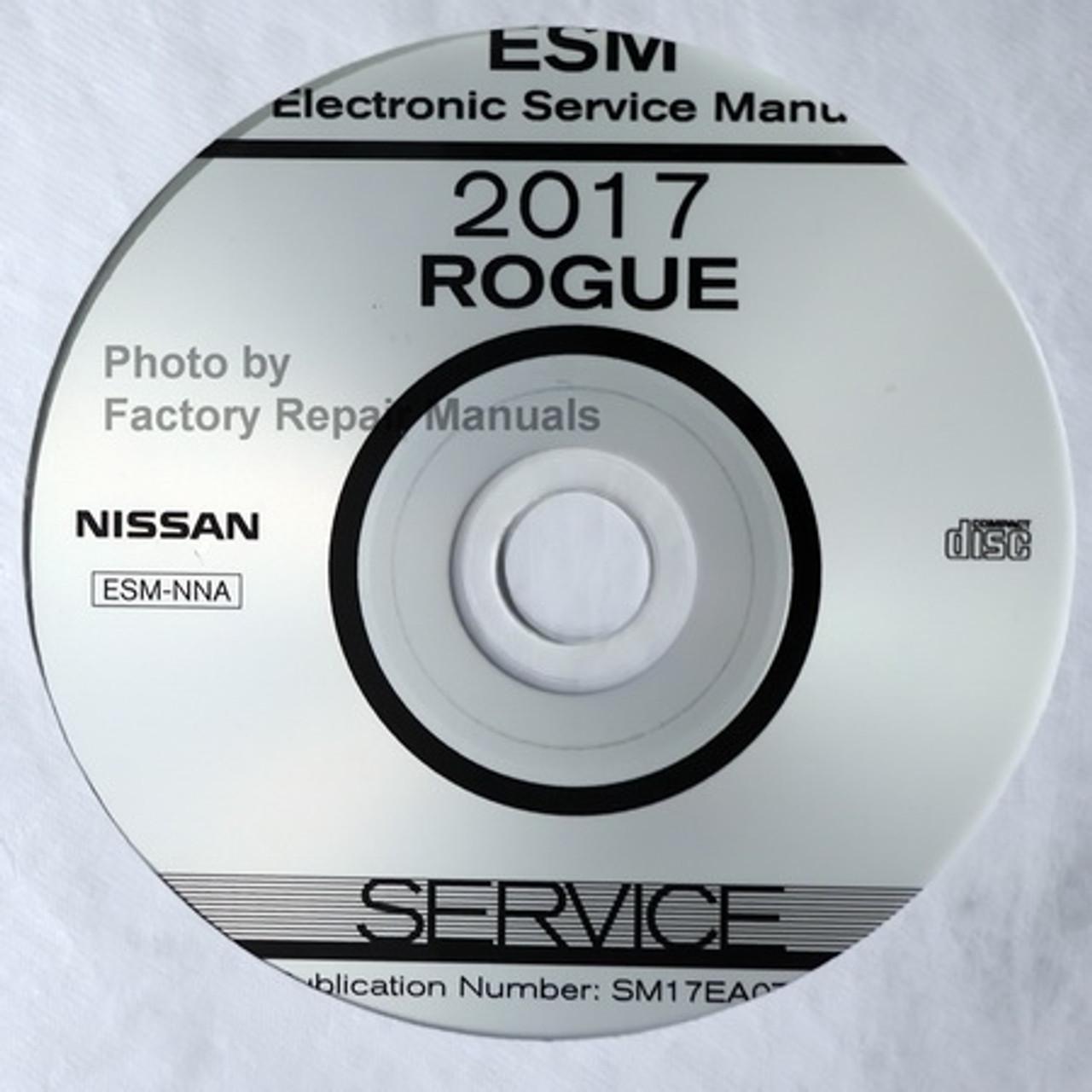 Nissan Rogue Repair Manual