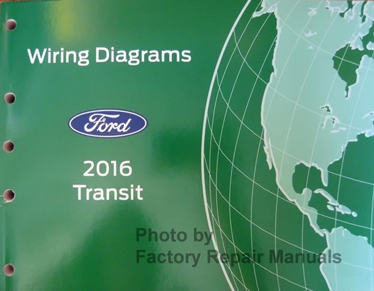 2016 Ford Transit Electrical Wiring Diagrams Original - Factory Repair  ManualsFactory Repair Manuals