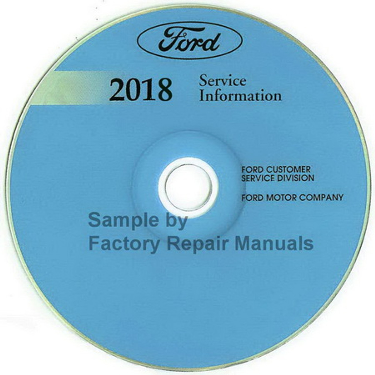 2018 Ford F53 Motorhome, F59 Factory Service Manual CD Original Shop F Wiring Schematic on