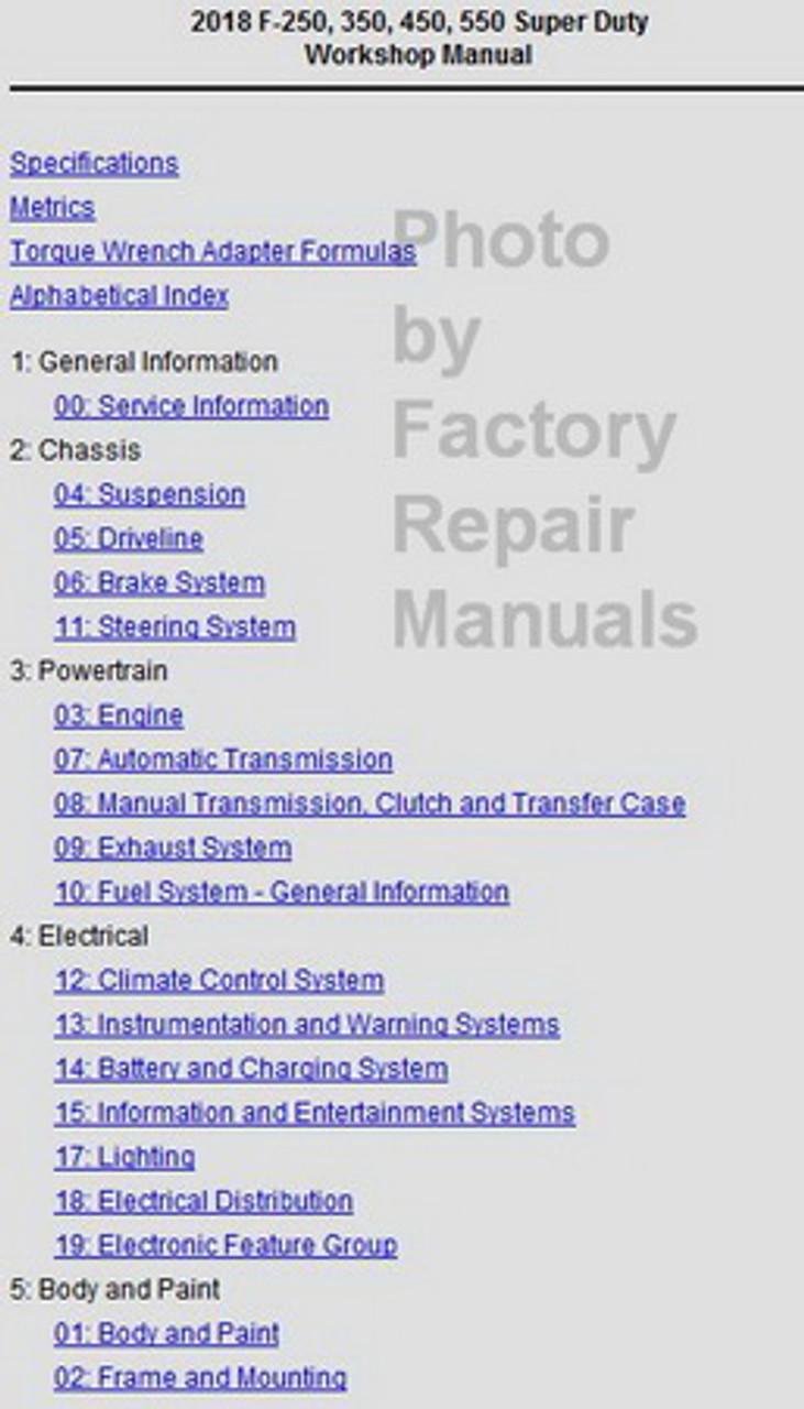 research.unir.net Motors Other Car Manuals 2018 Ford F-53 ...