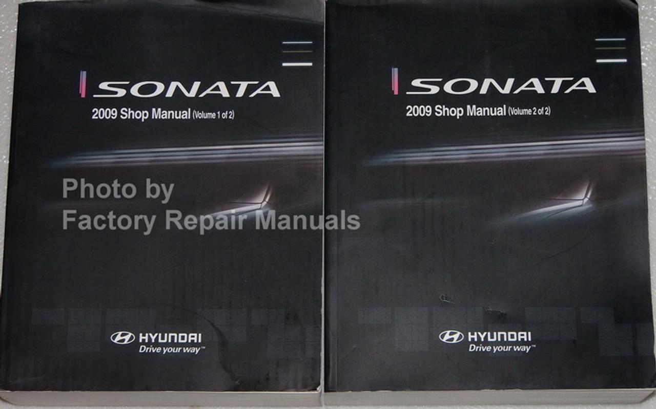 Owner & Operator Manuals 09 2009 Hyundai Sonata owners manual ...