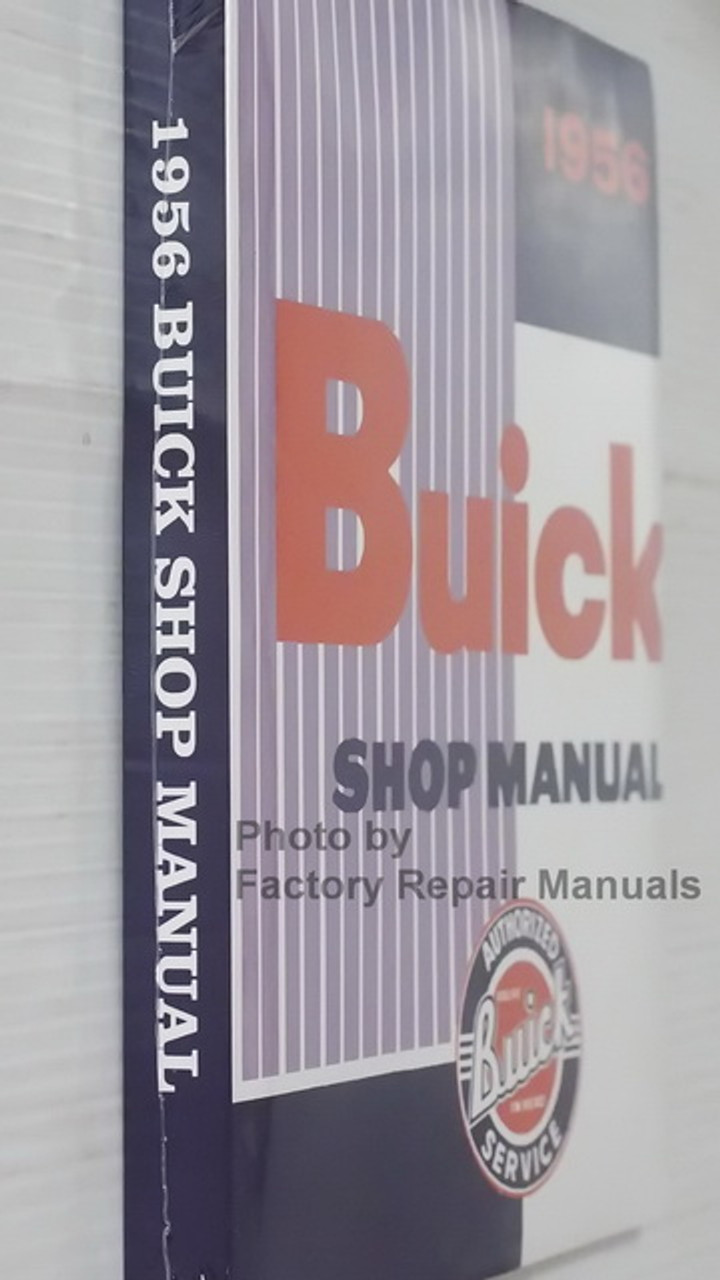 1956 Buick Owners Manual Special Super Roadmaster Century Owner ...