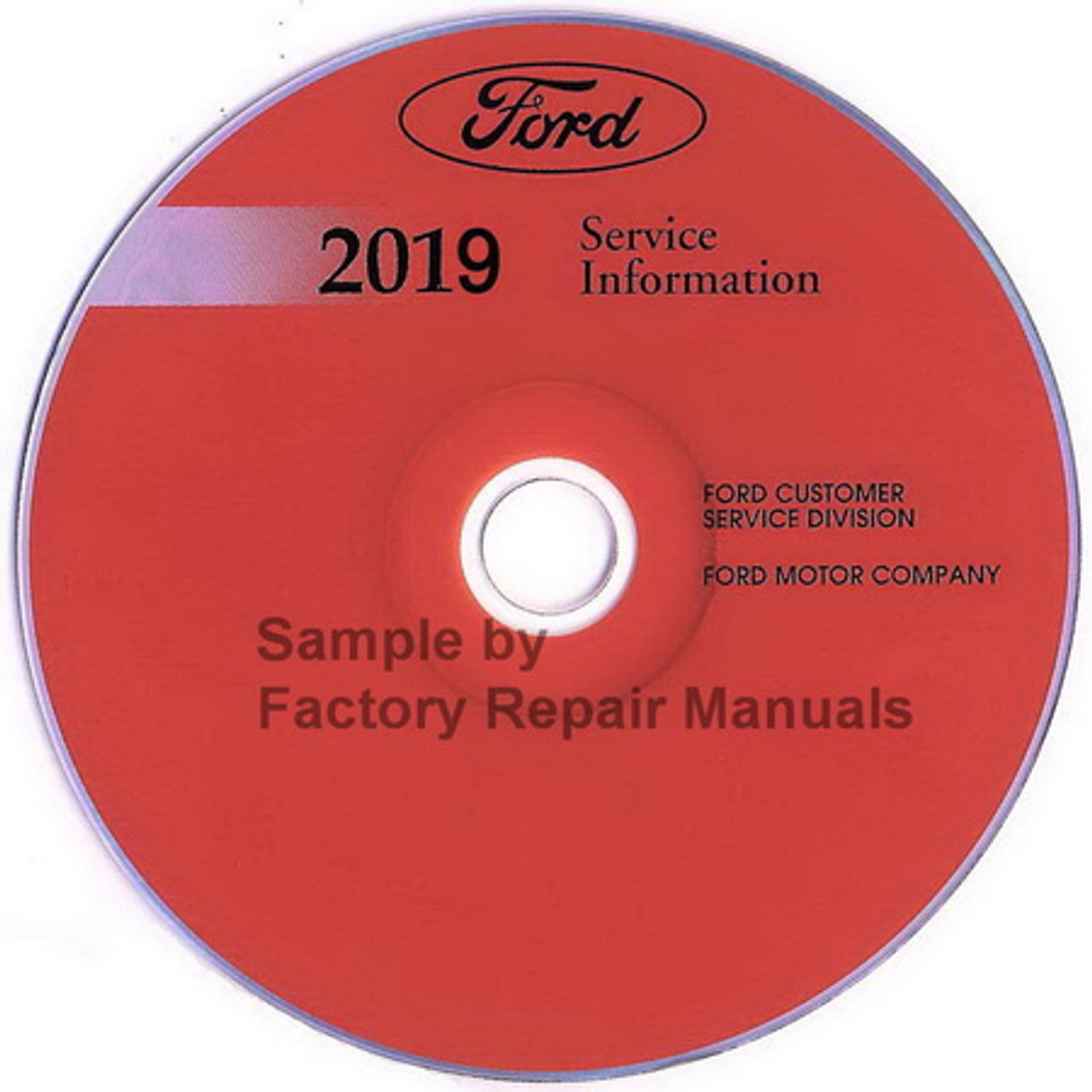2018 Ford Fusion Service Shop Repair Workshop Manual ON CD NEW