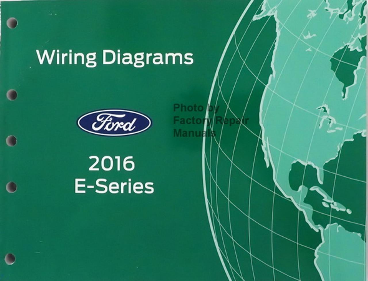 2016 Ford E350 E450 Electrical Wiring Diagrams Manual Original - Factory  Repair ManualsFactory Repair Manuals