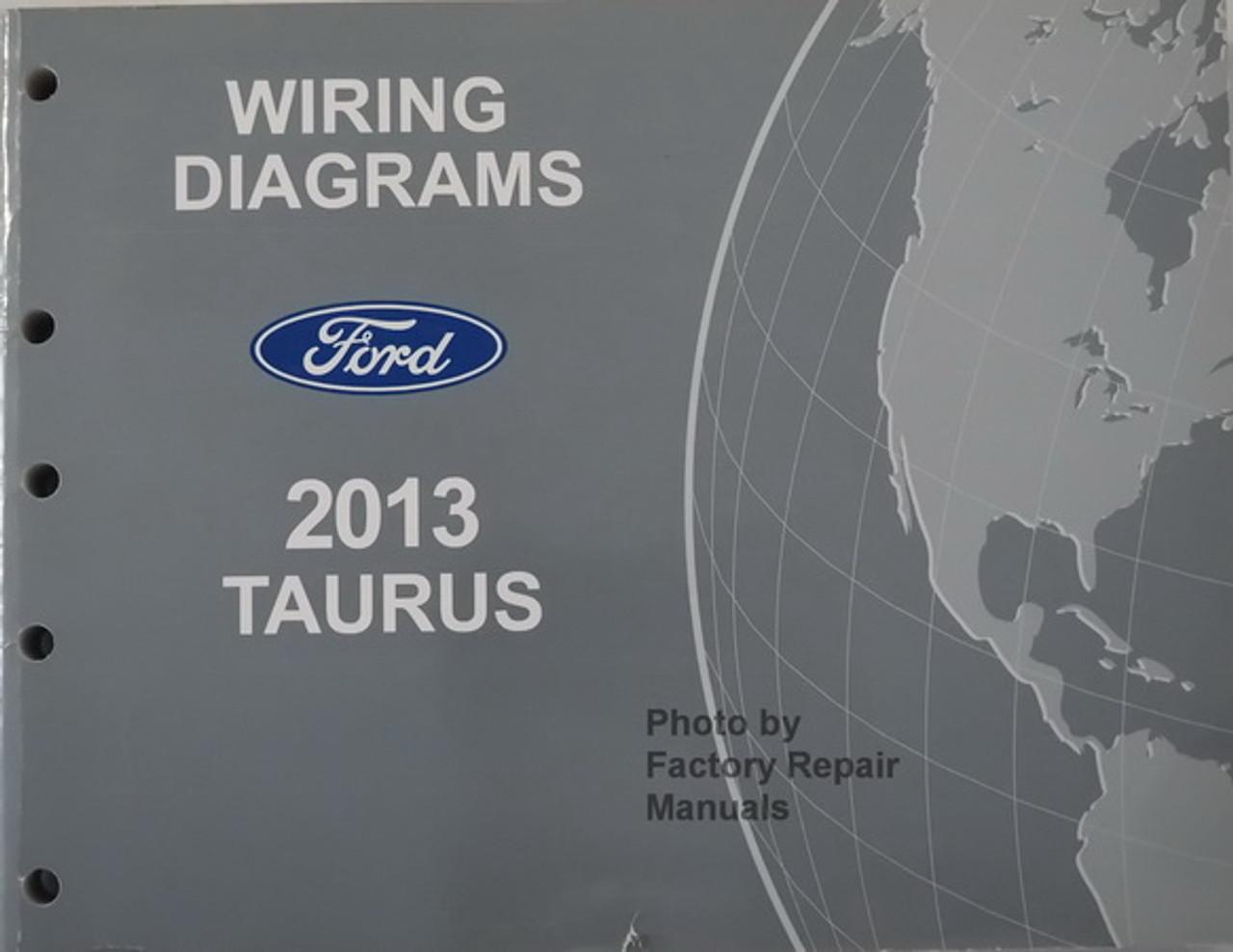 [EQHS_1162]  2013 Ford Taurus and Police Interceptor Sedan Electrical Wiring Diagrams  Original - Factory Repair Manuals | 2013 Ford Taurus Engine Diagram |  | Factory Repair Manuals