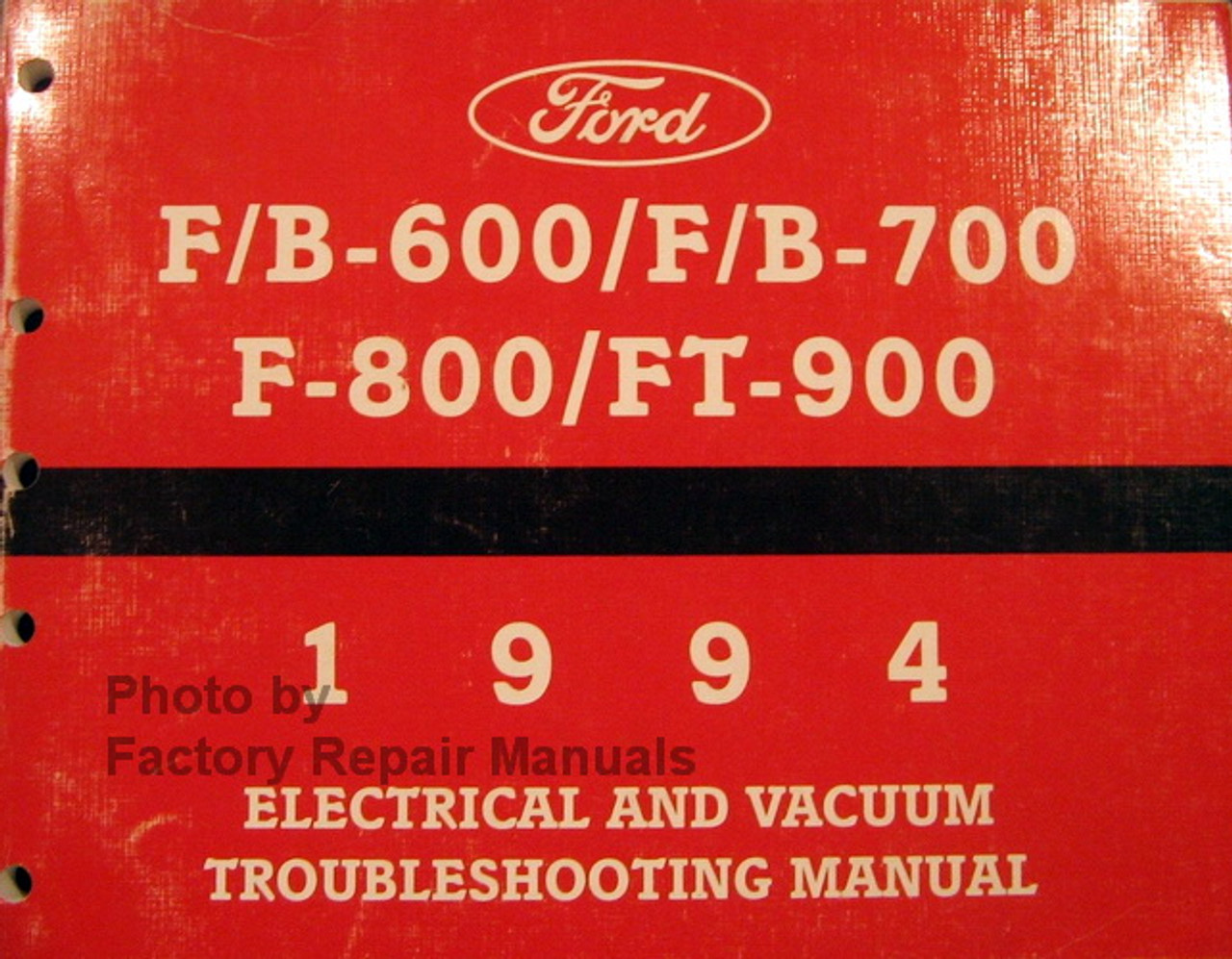 1995 Ford Aspire Electrical & Vacuum Troubleshooting Wiring ...