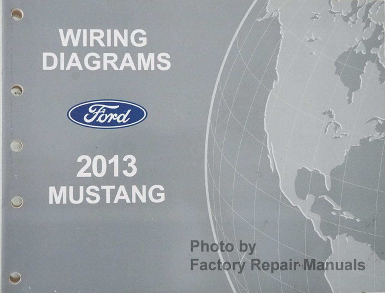 2013 ford mustang electrical wiring diagrams manual original - factory  repair manuals  factory repair manuals