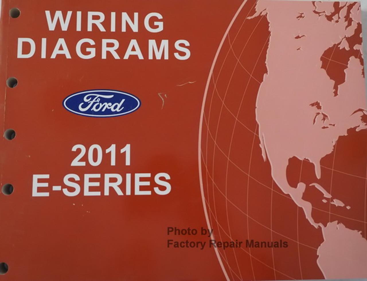 2011 ford e150 e250 e350 e450 electrical wiring diagrams original ...  factory repair manuals