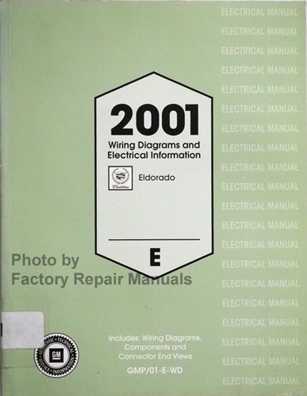 2001 Cadillac Eldorado Wiring Diagrams And Electrical Information Manual Original Factory Repair Manuals