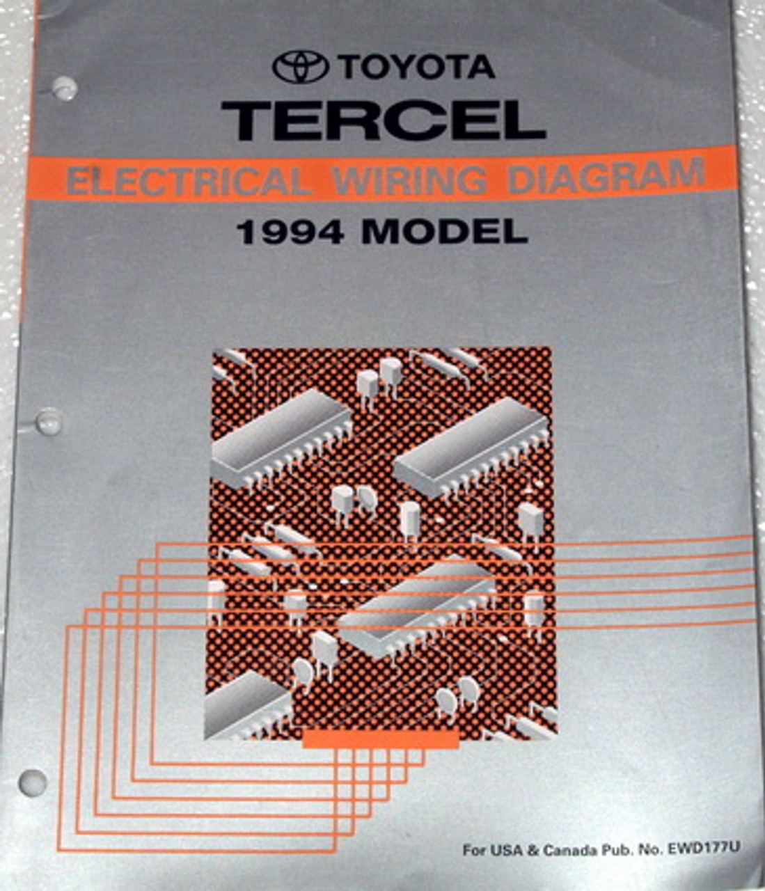 1994 Toyota Tercel Electrical Wiring Diagrams Original