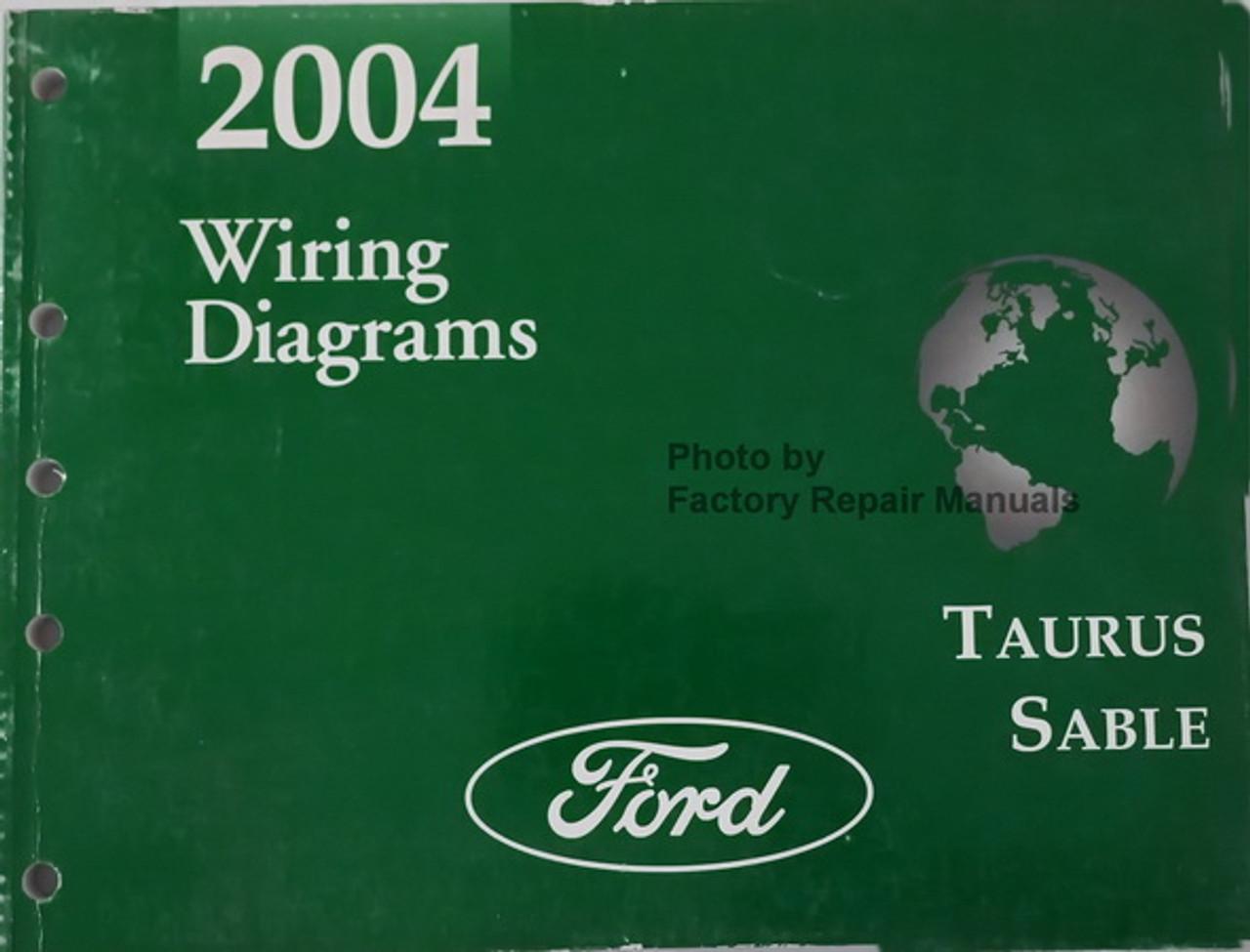 2004 Ford Taurus Mercury Sable Electrical Wiring Diagrams Original Shop Manual