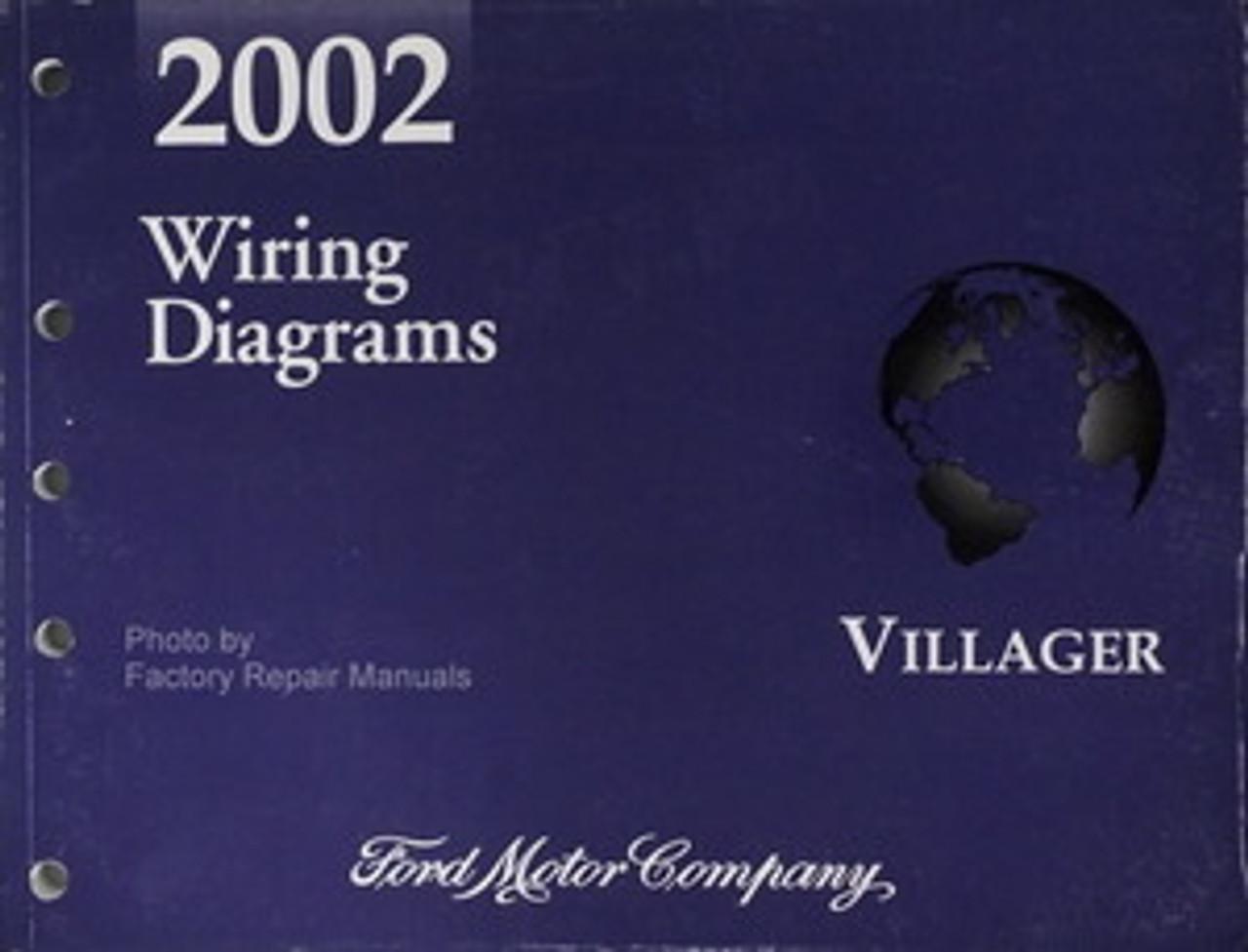2002 Mercury Villager Electrical Wiring Diagrams Original