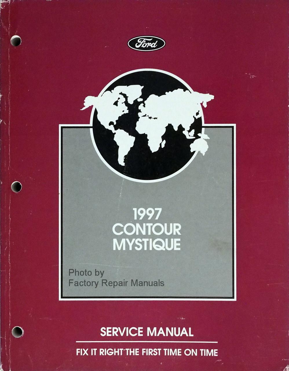 1997 FORD CONTOUR /& MERCURY MYSTIQUE Electrical /& Vacuum Troubleshooting Manual