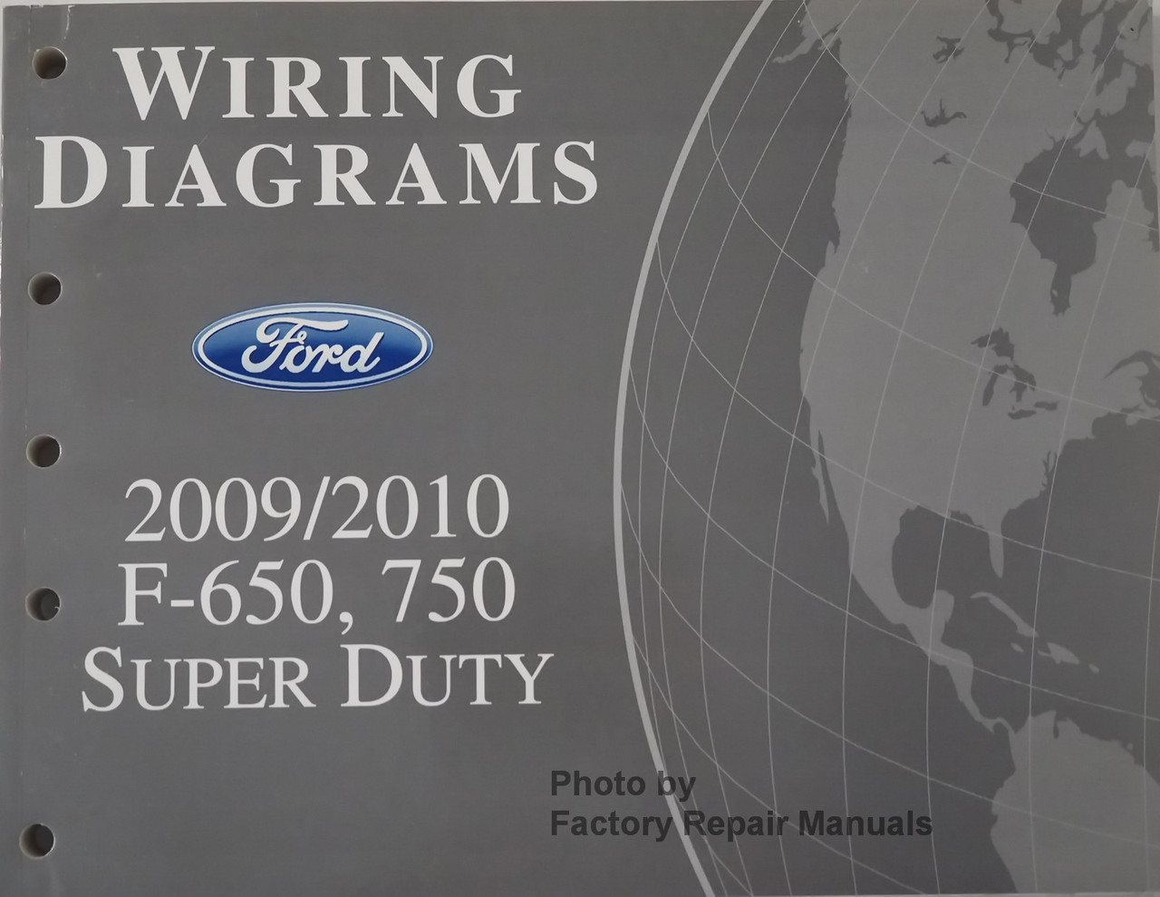 2009 2010 Ford F650 F750 Truck Electrical Wiring Diagrams Manual Original -  Factory Repair Manuals | Ford F650 Wire Diagram |  | Factory Repair Manuals