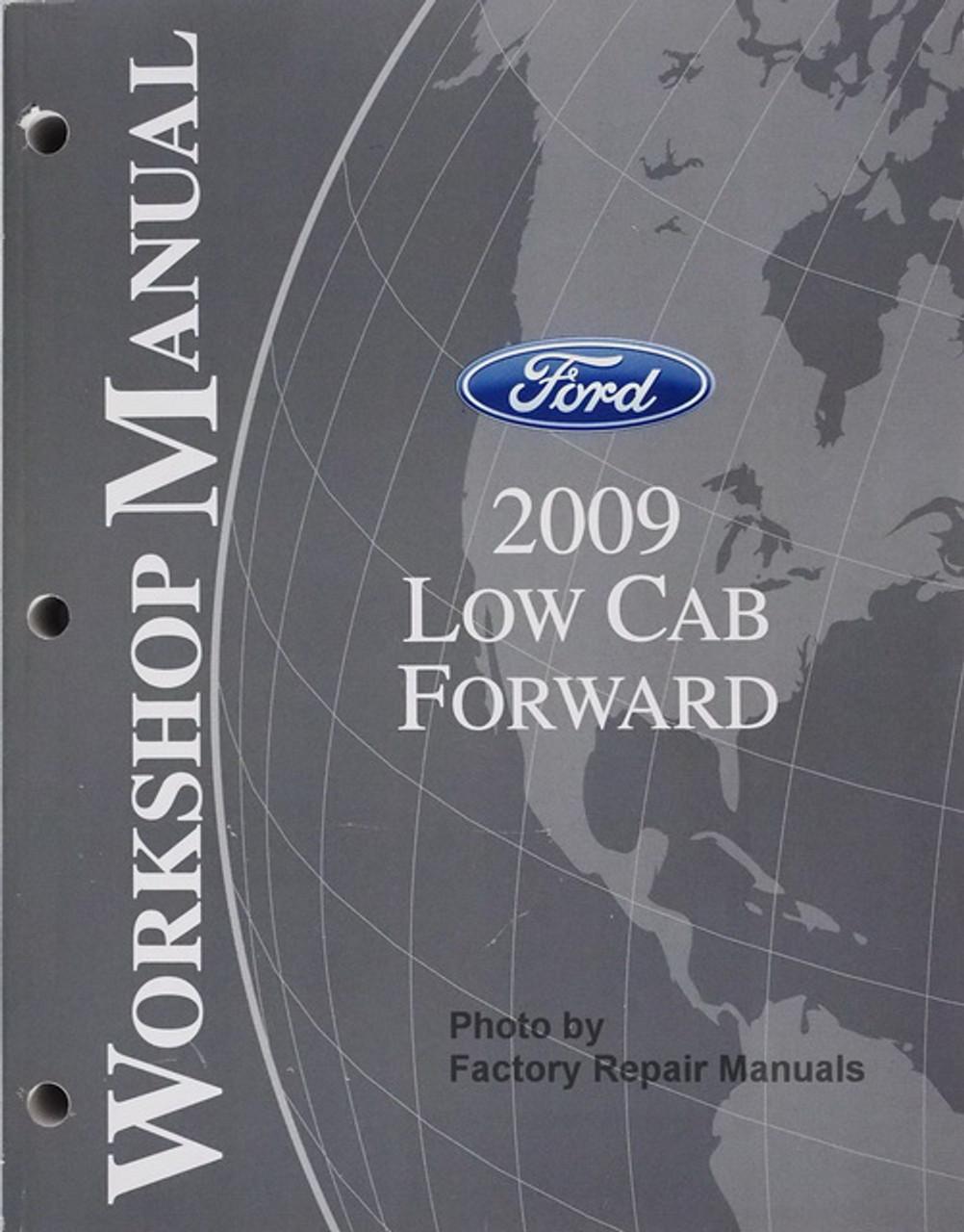 Other Car Manuals 2009 Ford Low Cab Forward Service Shop Repair ...