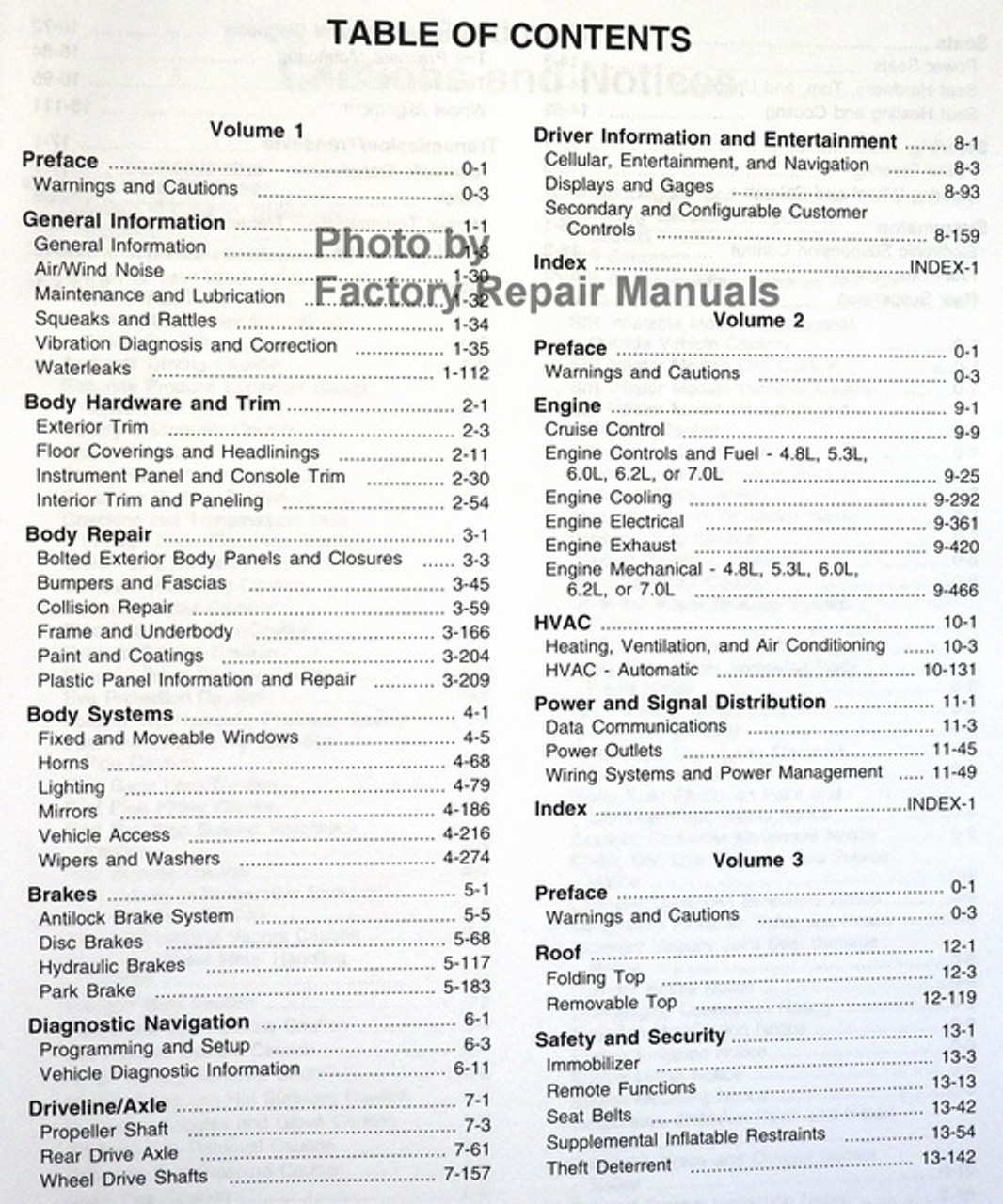 2008 Chevy Corvette Factory Service Manual Set Original Shop Repair