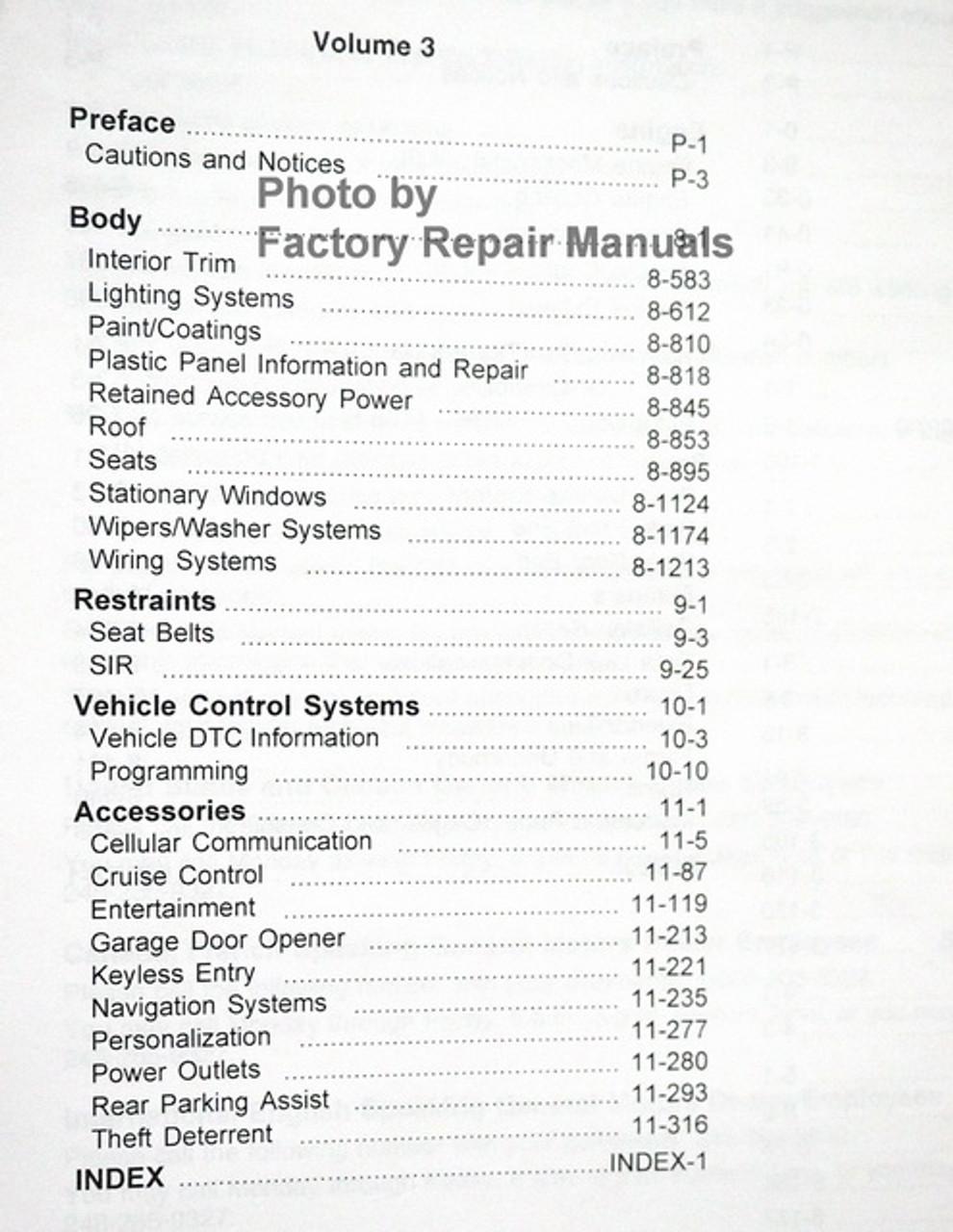 2004 Cadillac Deville Factory Service Manual Shop Repair