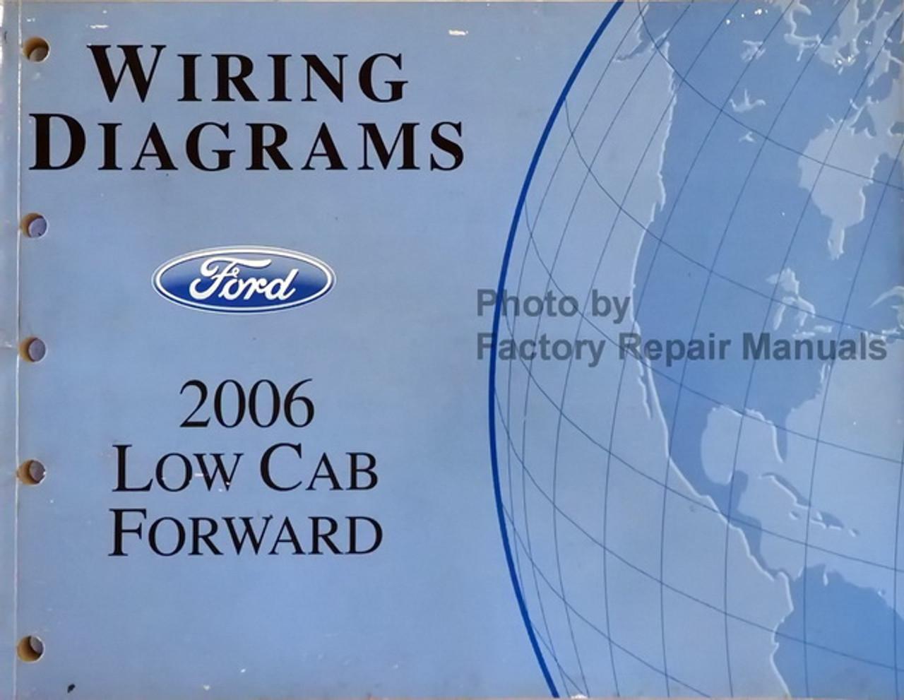 2006 ford lcf low cab forward truck electrical wiring diagrams original -  factory repair manuals  factory repair manuals