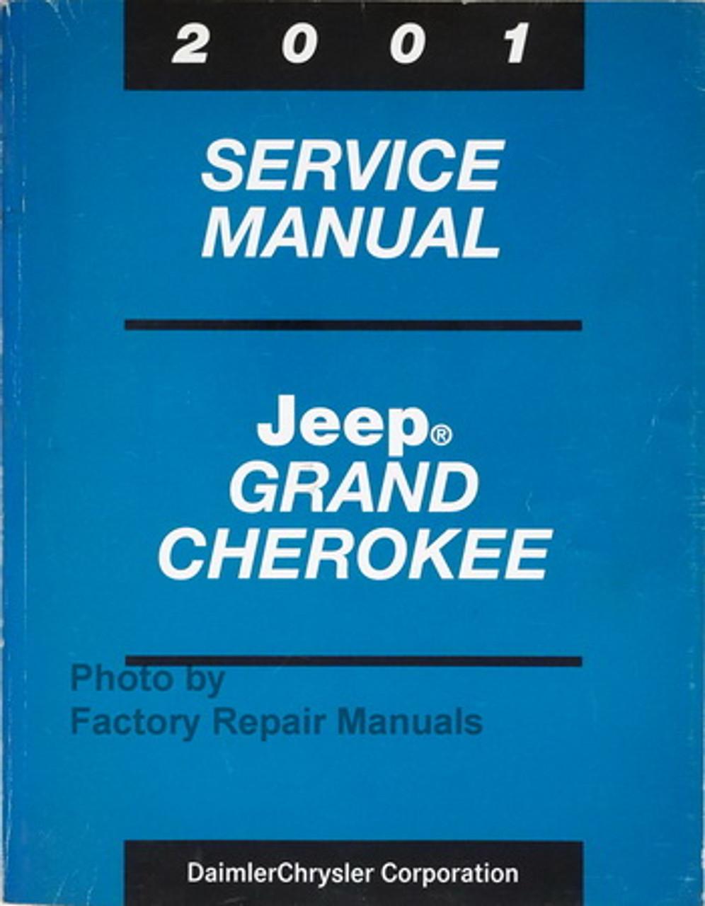 ispacegoa.com Jeep Shop Manual 2001 New Factory Service Manual ...