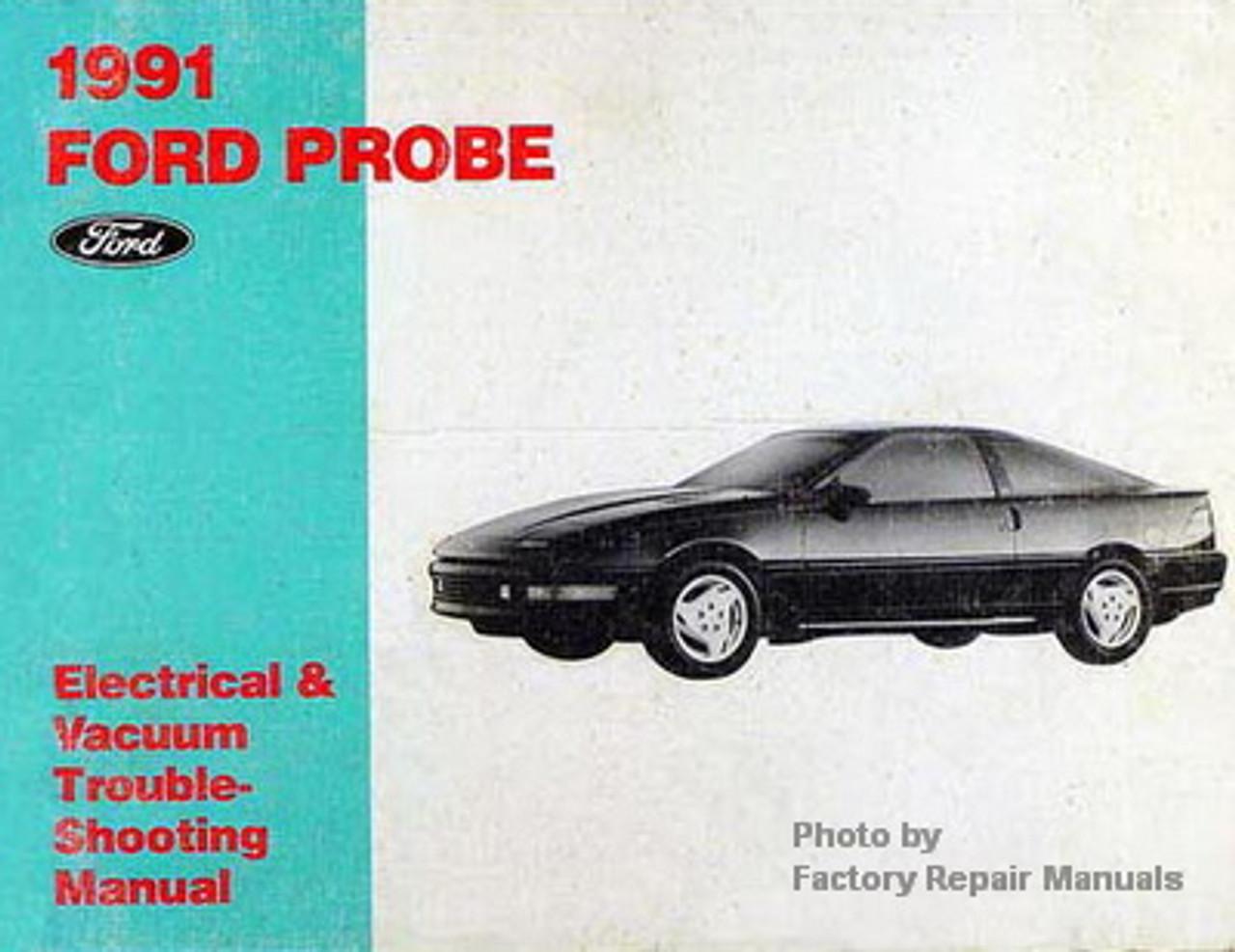 1991 Ford Probe Electrical  U0026 Vacuum Troubleshooting Manual