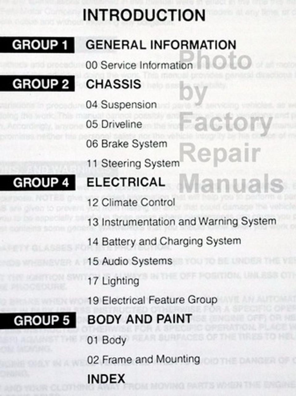 DIAGRAM 2002 Ford Windstar Mini Van Wiring Electrical ...