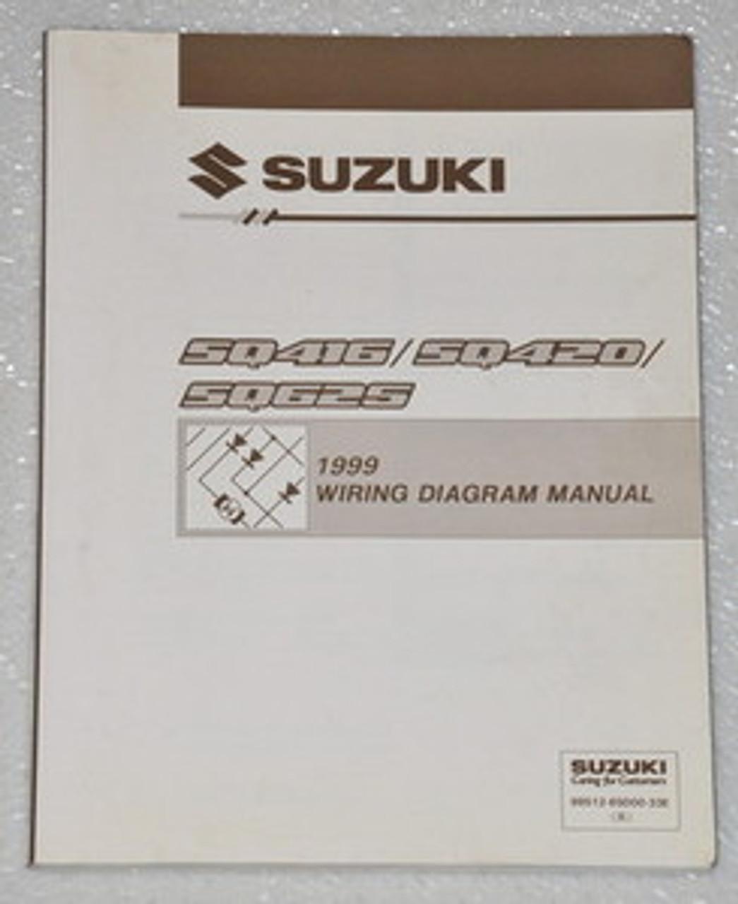 Suzuki Jimny 1999 Wiring Diagram