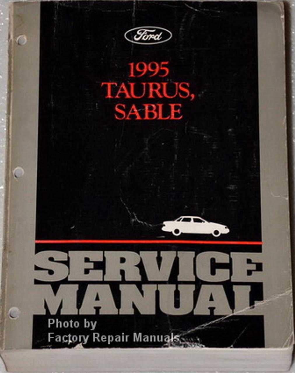 1995 Ford Contour Mercury Mystique Service Manual Set