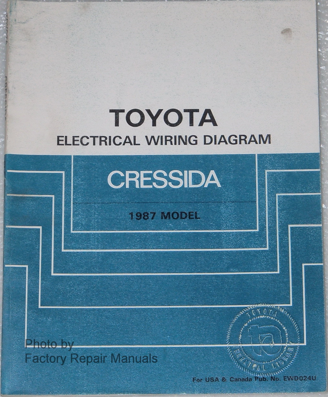 1986 toyota cressida wiring diagram 1987 toyota cressida electrical wiring diagrams original manual  1987 toyota cressida electrical wiring