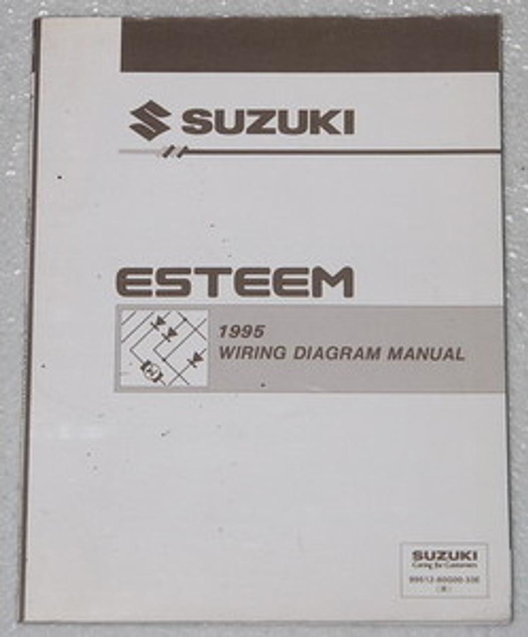 1995 Suzuki Esteem Electrical Wiring Diagrams Factory Shop