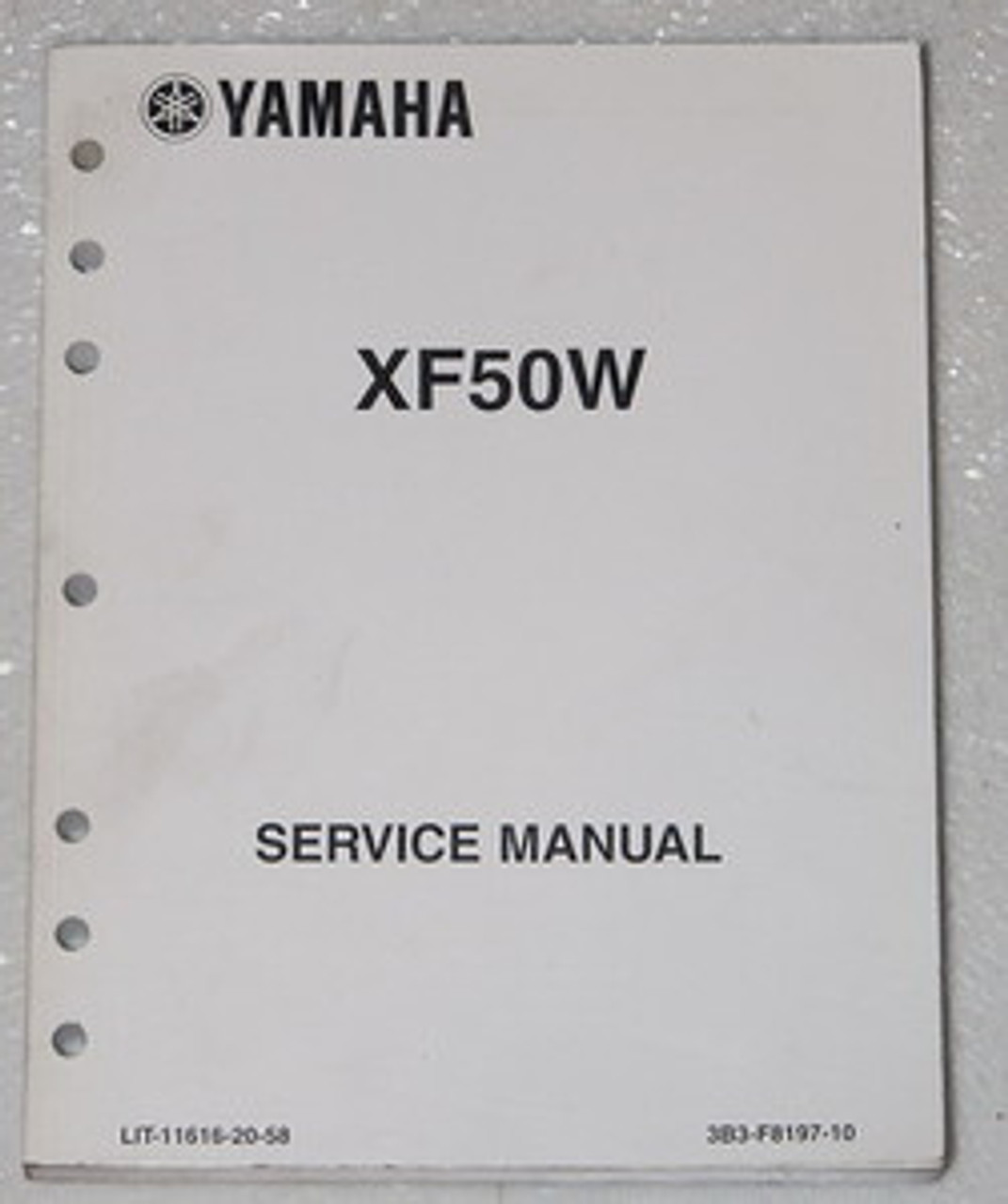 Motorcycle Service & Repair Manuals 2007 Yamaha C3 Scooter XF50W ...