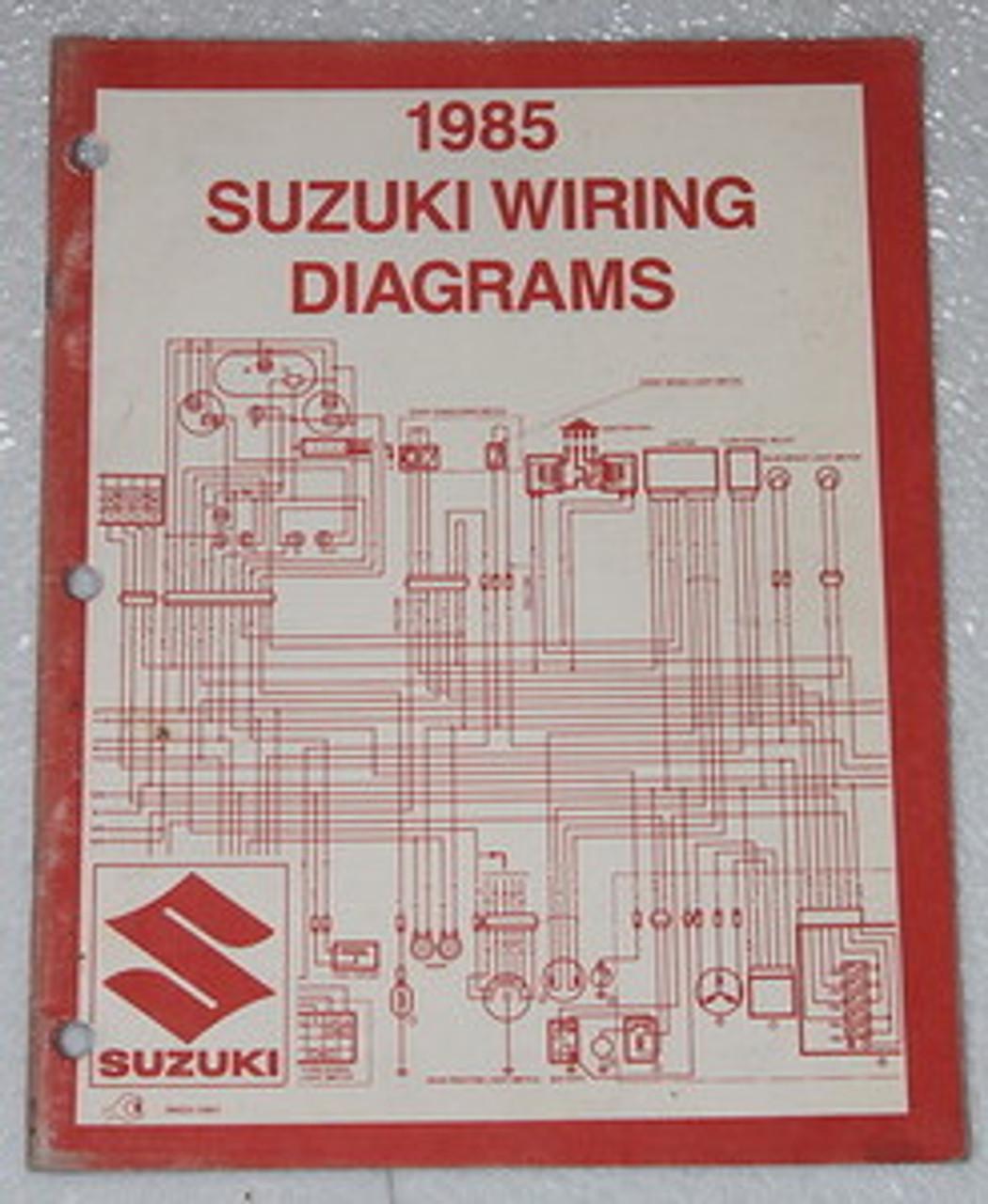 1992 suzuki s40 wiring diagram 1984 suzuki motorcycle and atv electrical wiring diagrams manual  atv electrical wiring diagrams manual