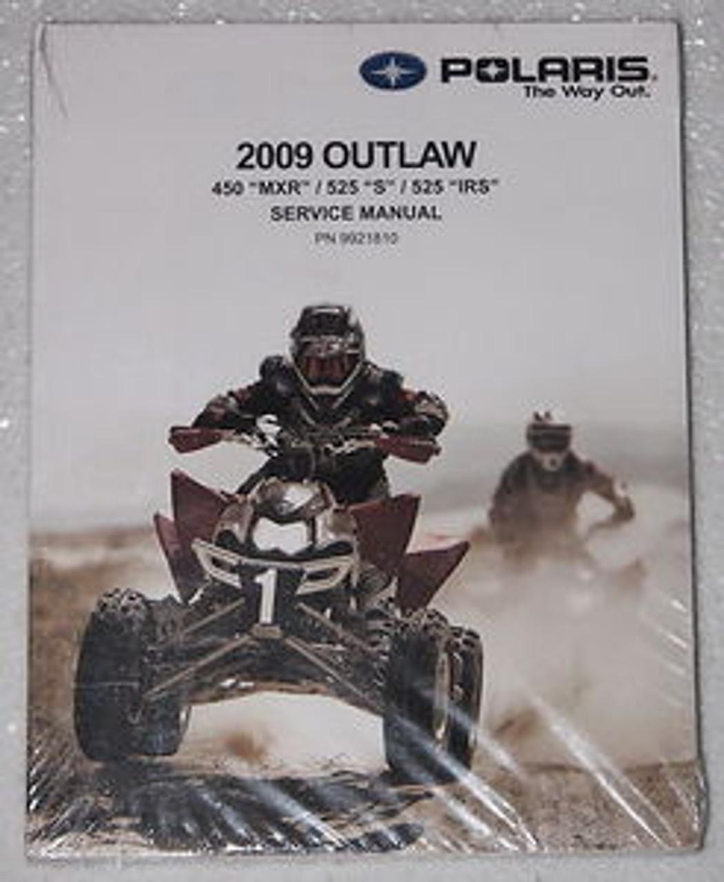 2009 Polaris Outlaw 525 S Irs 450 Mxr Service Manual Atv