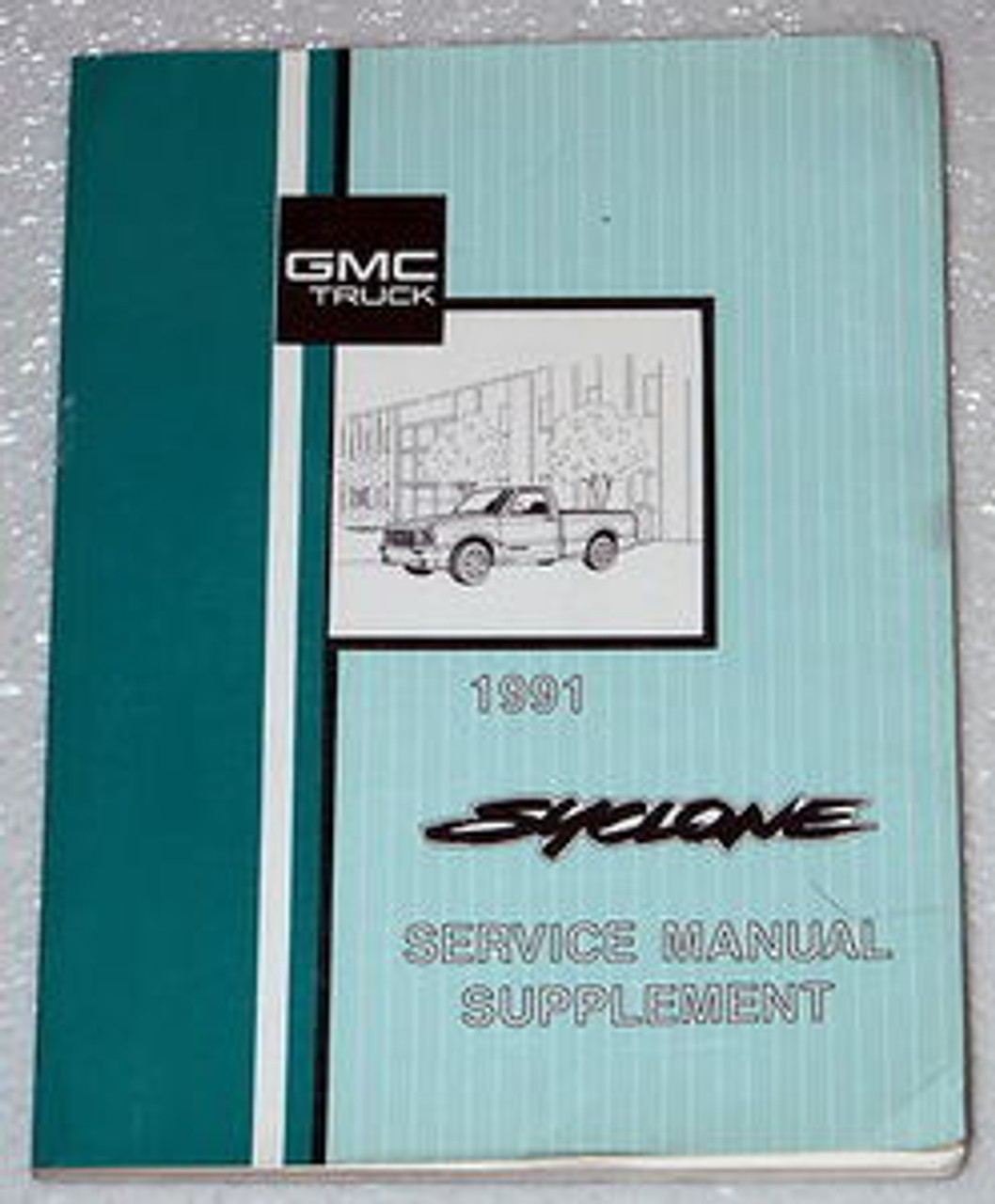 1991 gmc c k sierra pickup wiring diagram manual 1991 gmc syclone pick up truck factory service manual supplement  1991 gmc syclone pick up truck factory