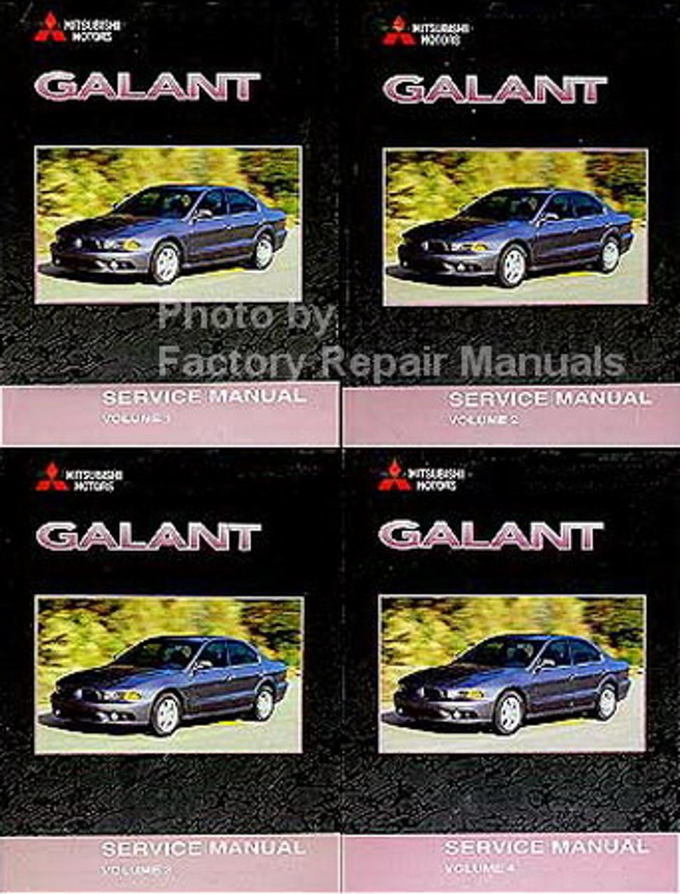 2002 Mitsubishi Galant Factory Service Manual Set Original Shop Repair
