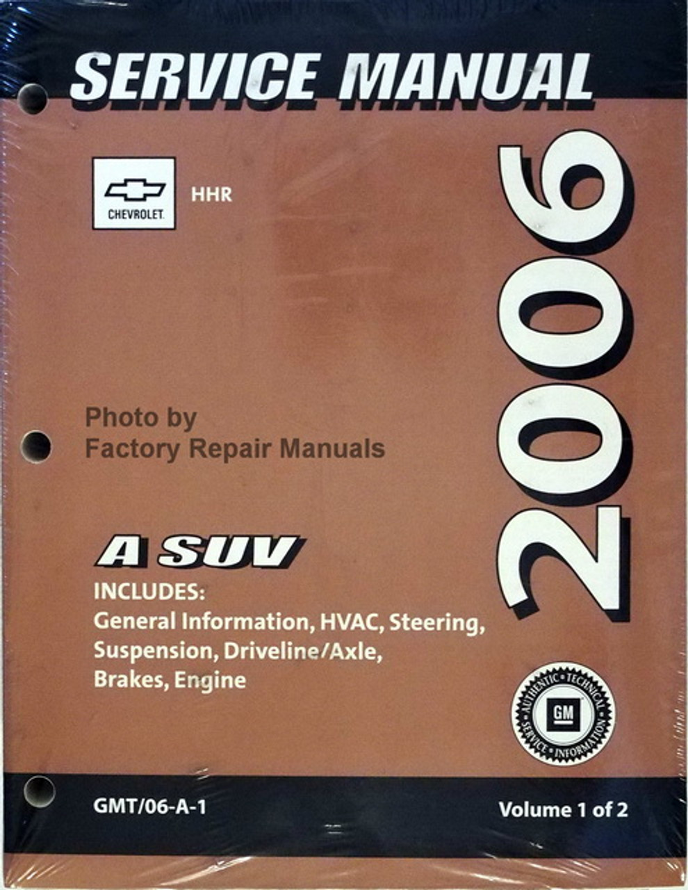2006 Chevrolet Hhr Factory Service Manual Original Shop Repair Set