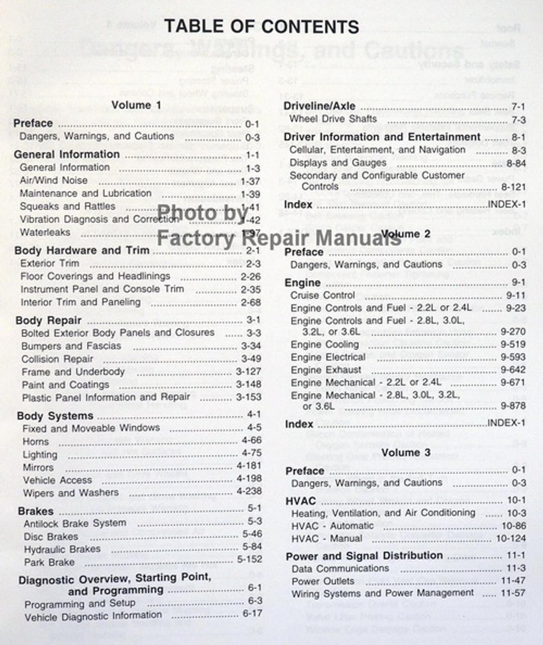 2011 Chevy Malibu Factory Service Manual Set Original Shop Repair