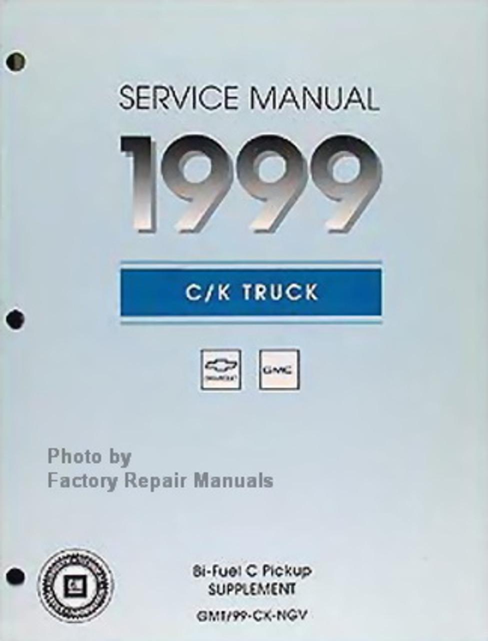 1999 Chevrolet GMC Medium Duty C-Series Truck Shop Service Repair Manual