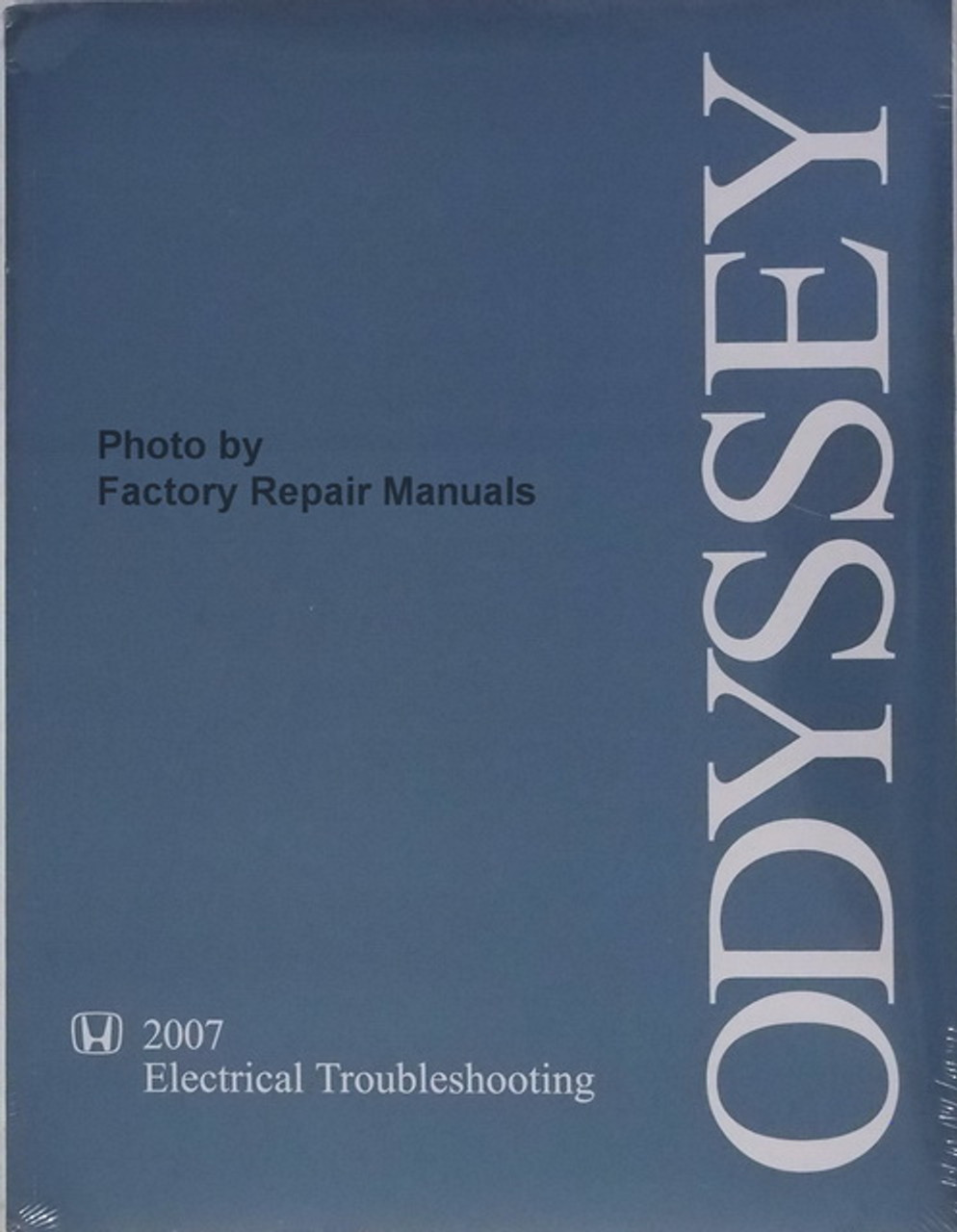 2007 Honda Odyssey Electrical Troubleshooting Manual