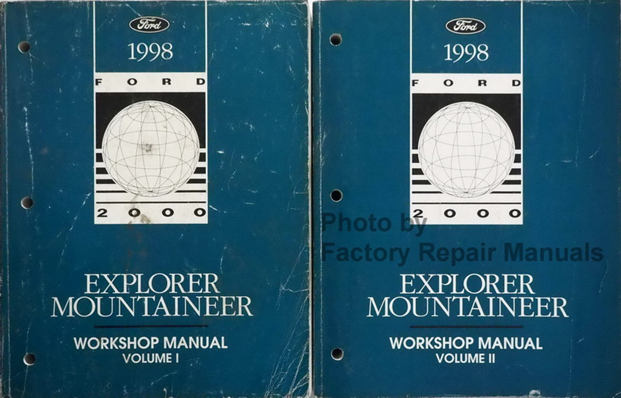 Mountaineer Electrical Vacuum Troubleshooting Service Manual 1998 ...