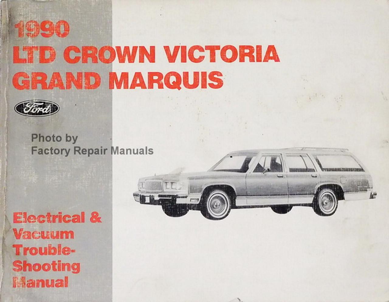 1990 mercury grand marquis wiring diagram 1990 ford crown victoria   mercury grand marquis electrical vacuum  crown victoria   mercury grand marquis