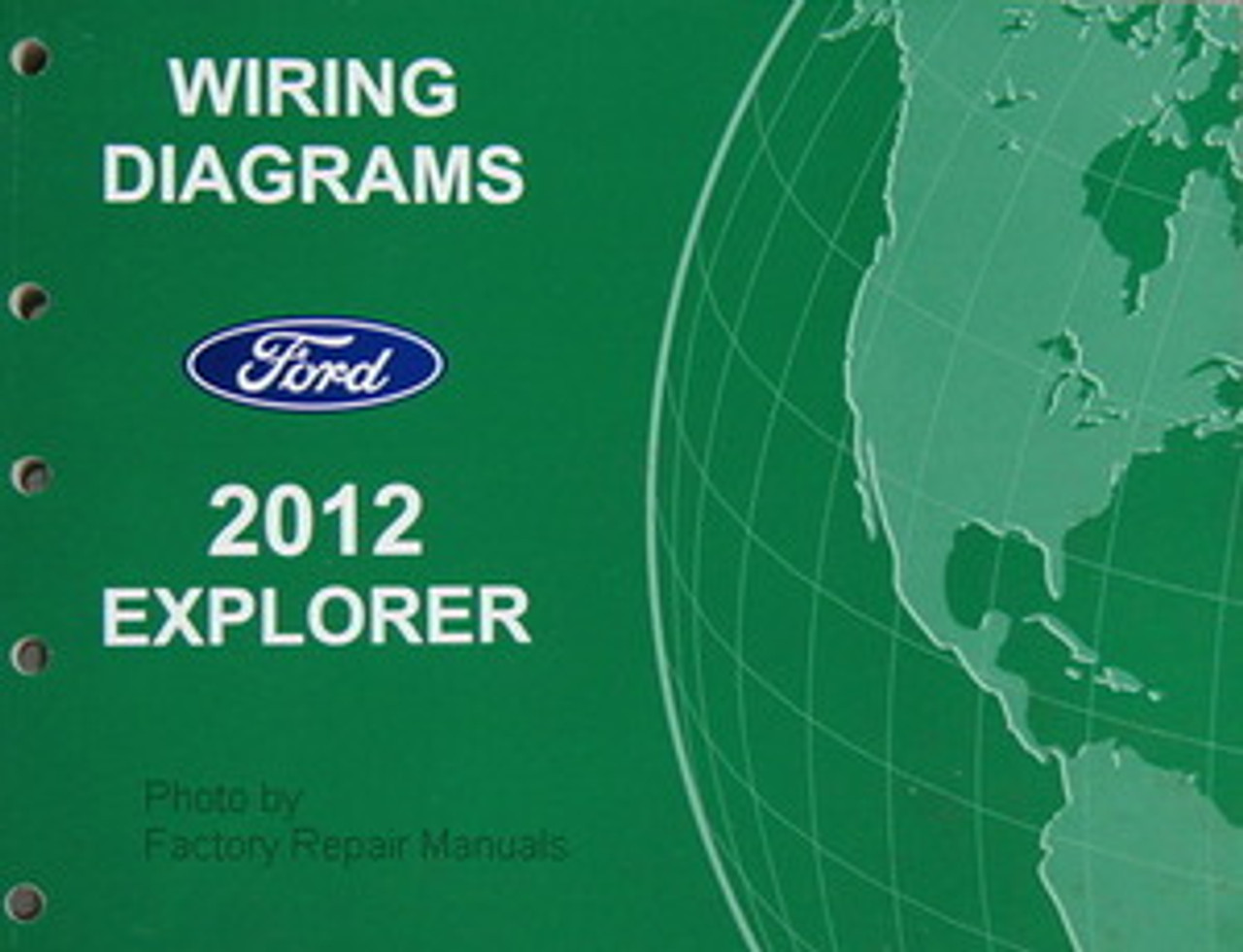 2012 Ford Explorer Electrical Wiring Diagrams Original - Factory Repair  ManualsFactory Repair Manuals