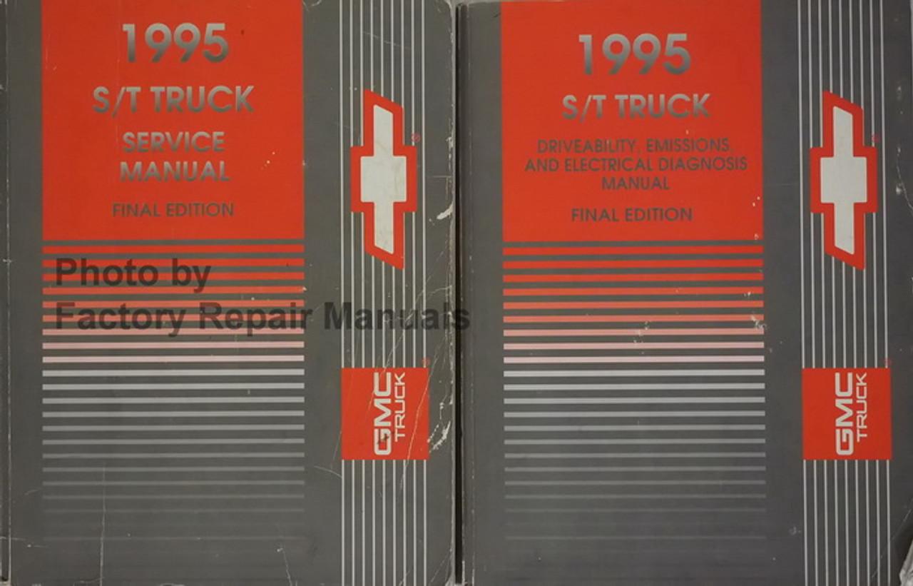 1992 Chevrolet Chevy S 1truck Service Shop Manual Set