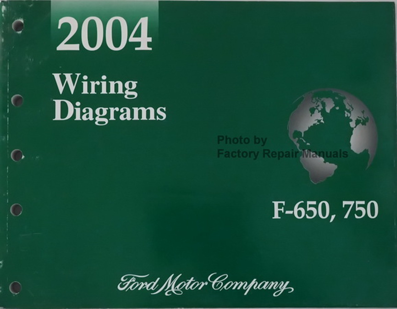 [ZTBE_9966]  2004 Ford F650 F750 Medium Duty Truck Electrical Wiring Diagrams - Factory  Repair Manuals | Ford Medium Duty Truck Wiring Diagrams |  | Factory Repair Manuals