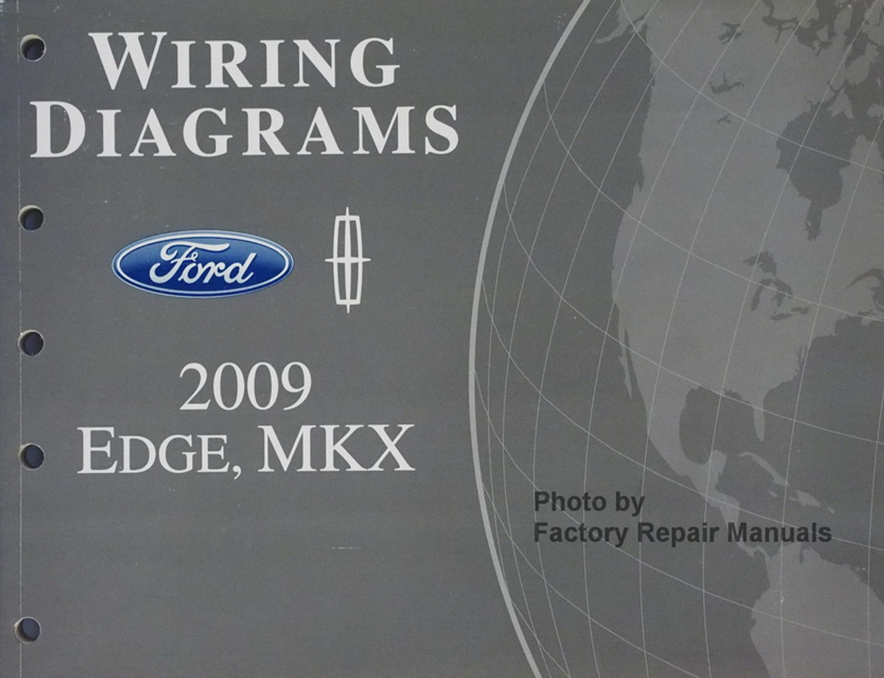 2014 FORD Edge Lincoln MKX Electrical Wiring Diagrams OEM Manual