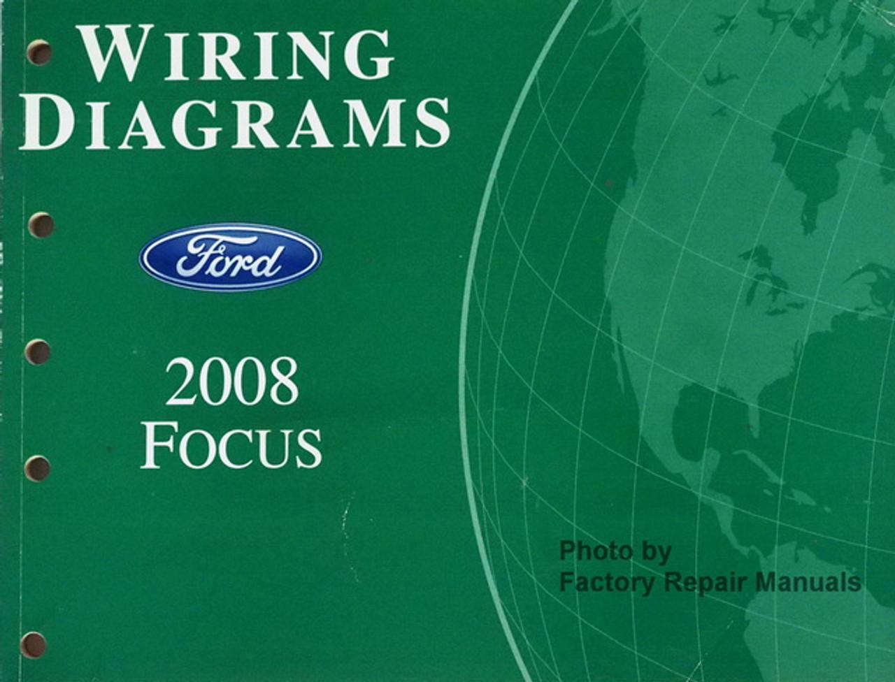 2008 ford focus electrical wiring diagrams original factory manual -  factory repair manuals  factory repair manuals