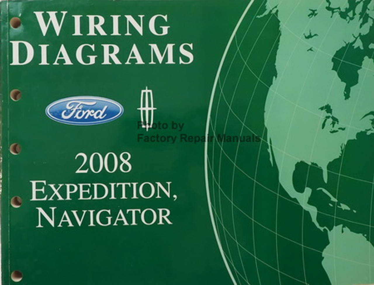 2008 Ford Expedition  Lincoln Navigator Electrical Wiring