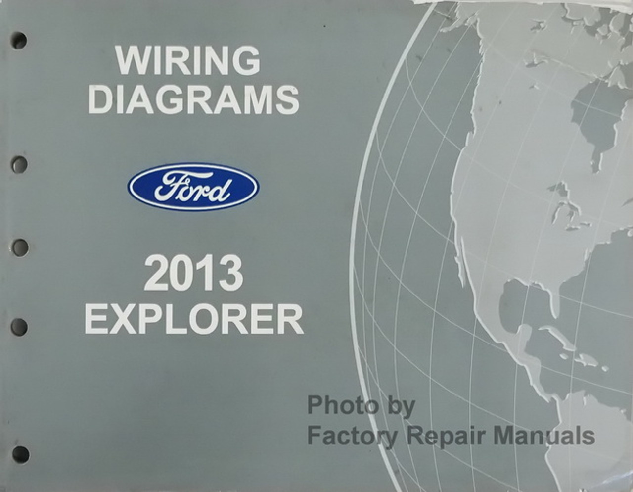 2013 Ford Explorer and Police Interceptor Utility Electrical Wiring Diagrams  Original - Factory Repair Manuals | 2013 Explorer Wiring Diagram |  | Factory Repair Manuals