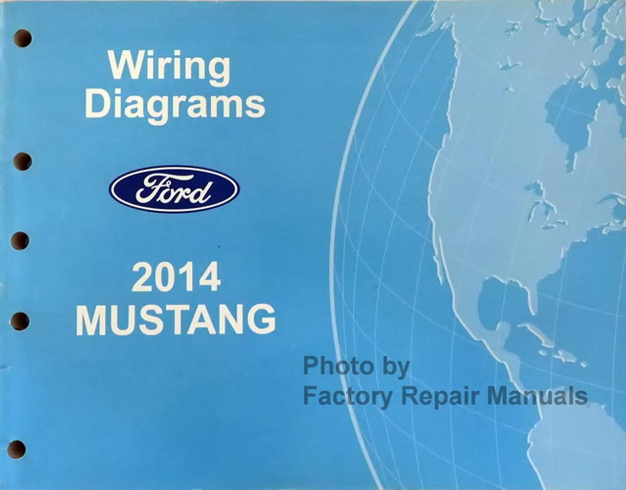 2014 Ford Mustang Electrical Wiring Diagrams Manual Original - Factory  Repair Manuals | 2014 Mustang Backup Camera Wiring Diagram |  | Factory Repair Manuals