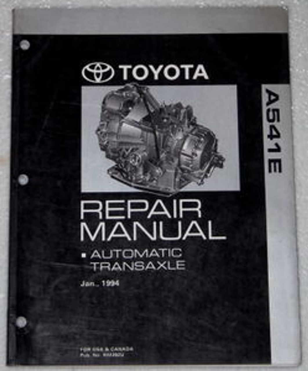 1994 1997 Toyota Avalon Camry V6 Automatic Transmission Repair Manual Factory Repair Manuals